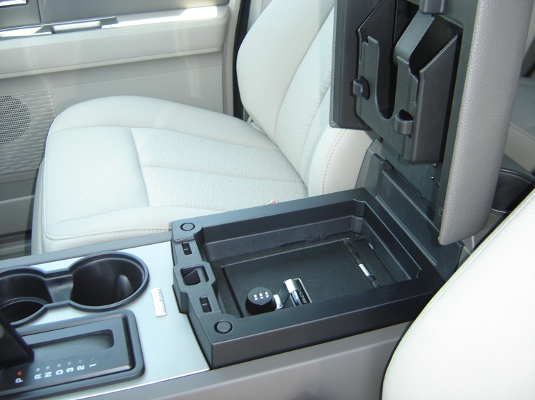 Center Console Gun Safe >> Ford expedition center console removal
