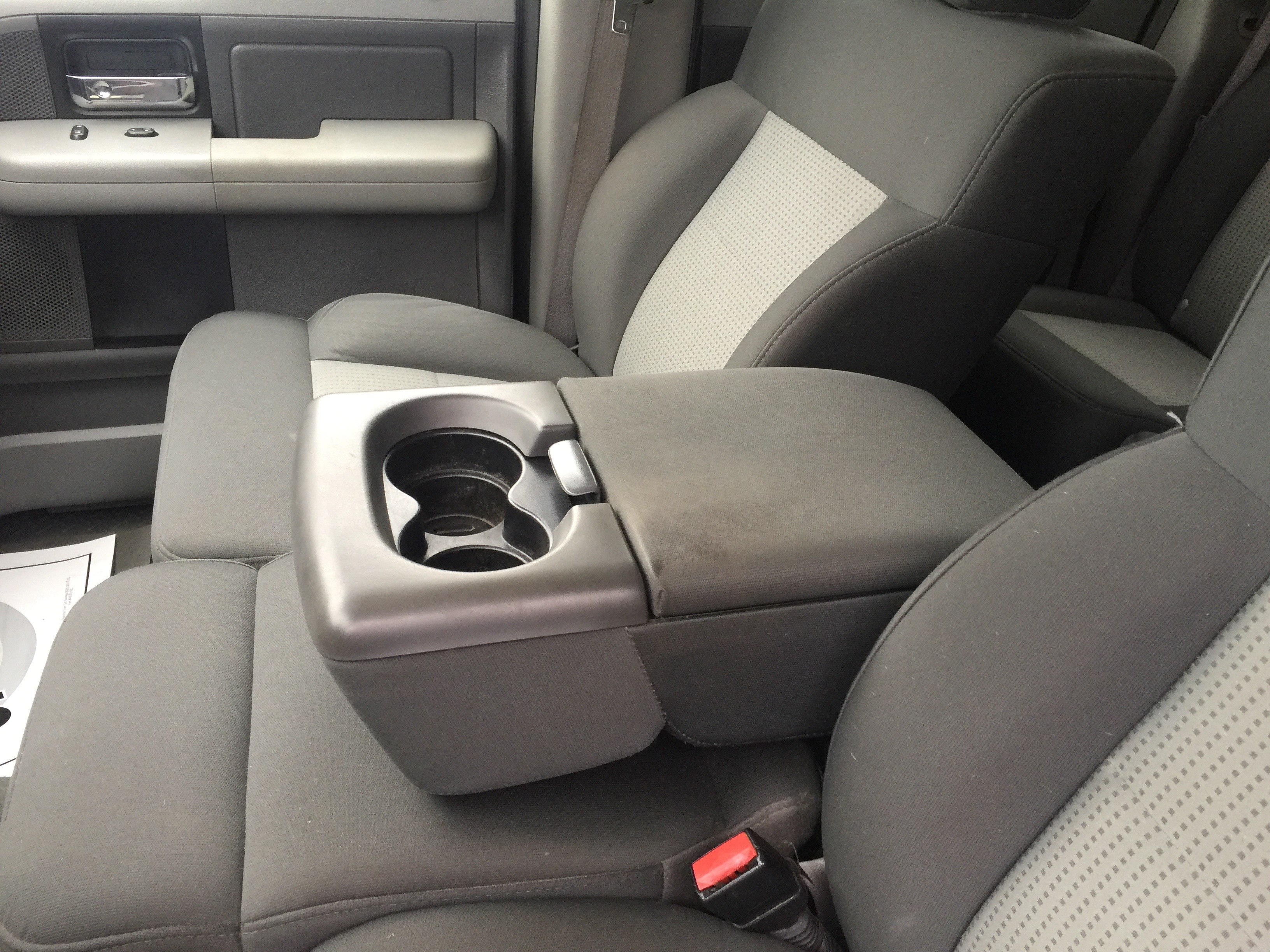 Ford F150 Fold Down Armrest Console Vault 2004 2011