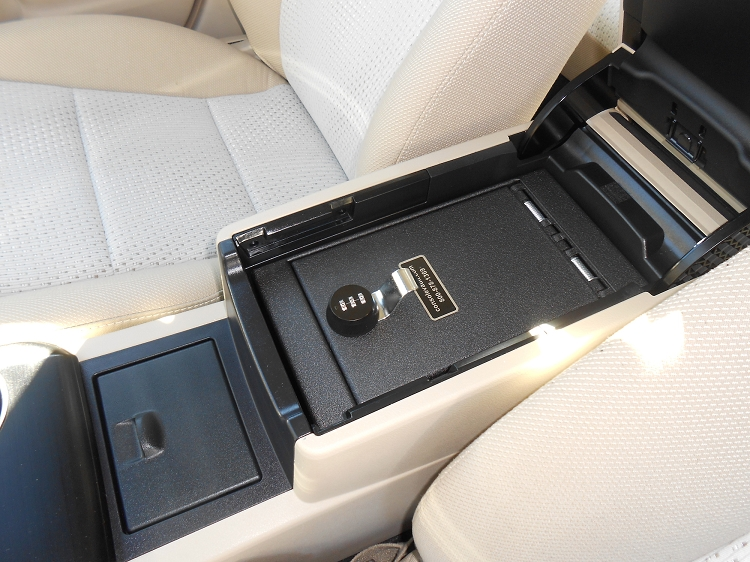 Toyota Camry Console Vault