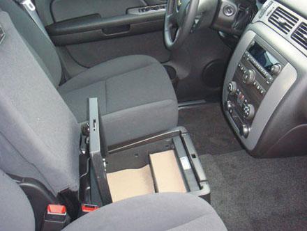 Chevrolet Avalanche Ls Under Seat Console 2008 2014