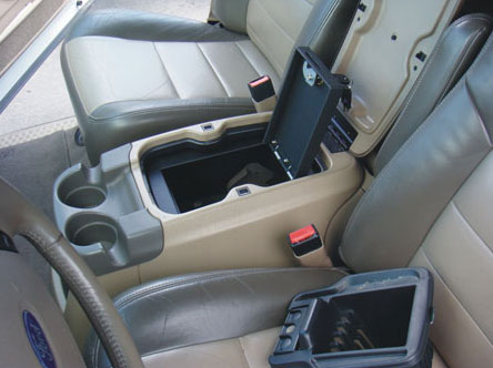 Ford F350 Floor Console Vault 2004 2007