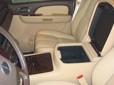 Chevrolet Tahoe Floor Console W Usb Access 2007 2013