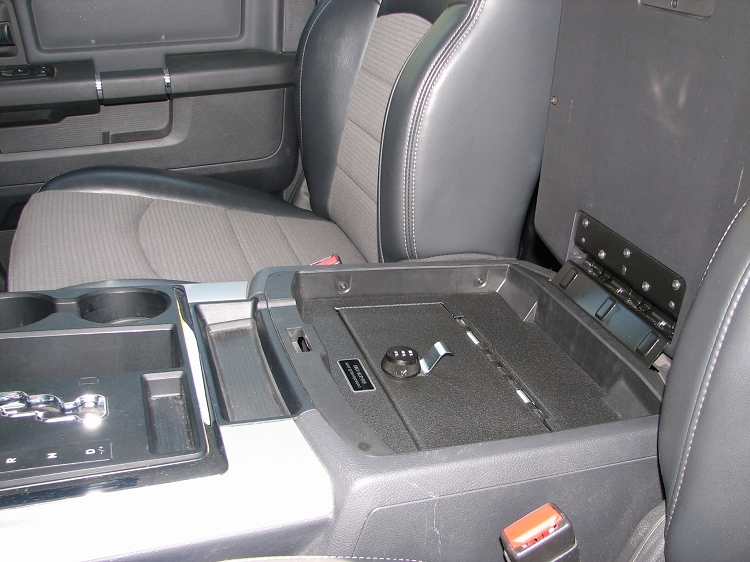 Anyone Installed A Console Vault In Their 2014 Dodge