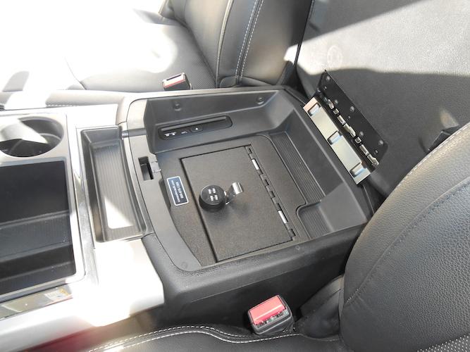 Dodge Ram 1500 - 2500 Full Floor Console: 2013 - 2018