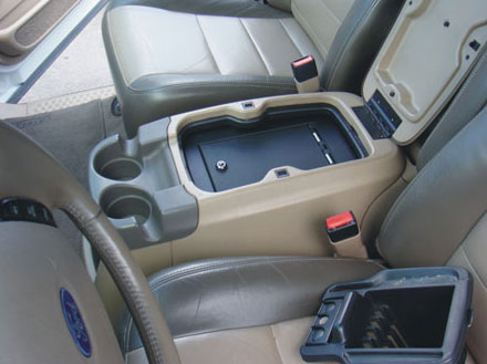 Ford Excursion Floor Console 2000 2005