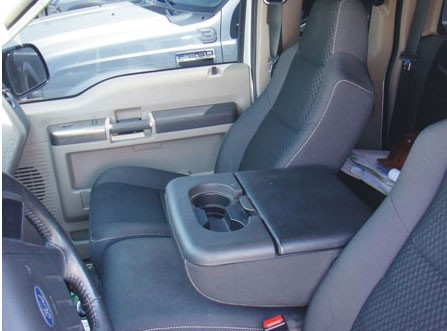 Ford Super Duty >> Ford F250 Super Duty Fold Down Arm Rest Console Vault: 2000 - 2010