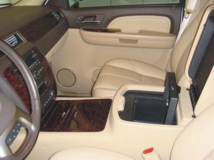 Chevrolet Silverado Floor Console w/USB Access: 2010 - 2013