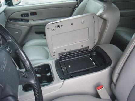 Bench Seat Floor Organizer