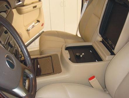 Chevrolet Silverado Floor Console W Usb Access 2010 2013