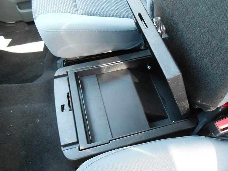 Ford F250 Console Vault: 2011 - 2015