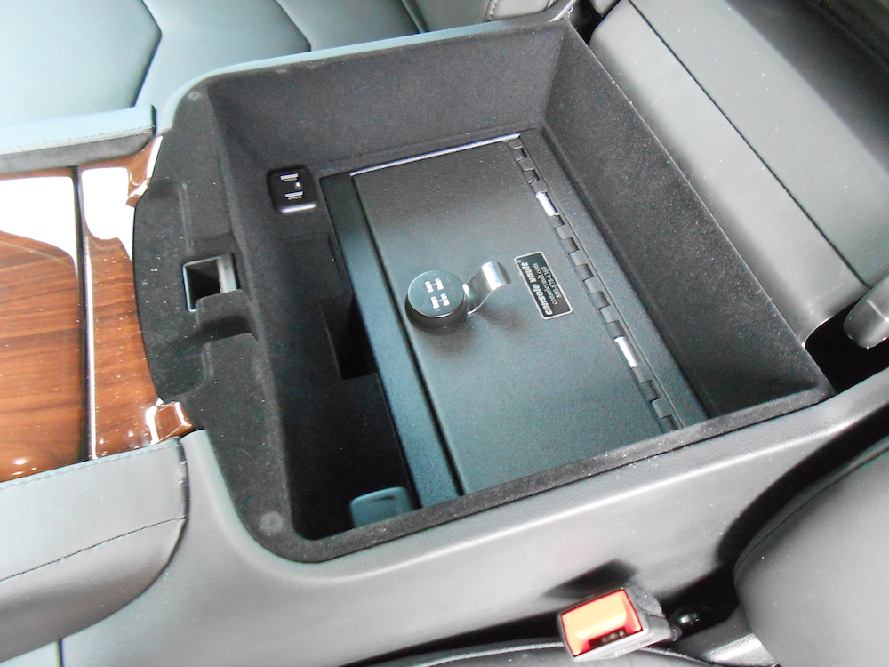 2015 Cadillac Escalade Vehicle Safe Console Vault