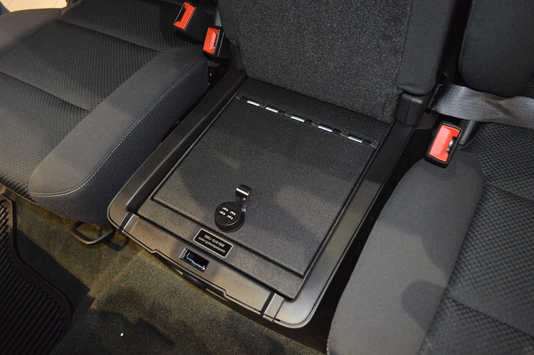 2019 Gmc Sierra 2500 3500 Under Seat Vehicle Safe