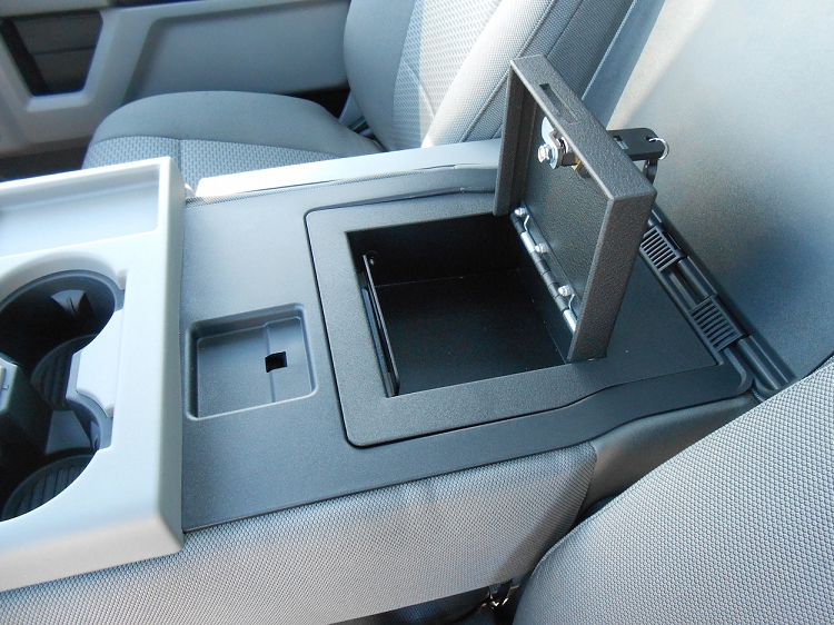 How To Program Nissan Key >> Ford F150 Fold Down Arm Rest 2015-2019 Console Vault ...