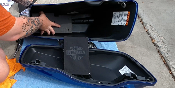 Adam Lewis Installs the Console Vault Motorcycle Safe for Harley Davidson