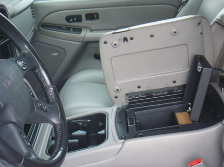 Chevrolet Avalanche Floor Console