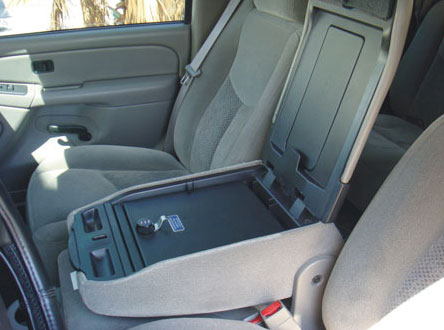Chevrolet Avalanche Fold Down Front on Dodge Ram Center Console
