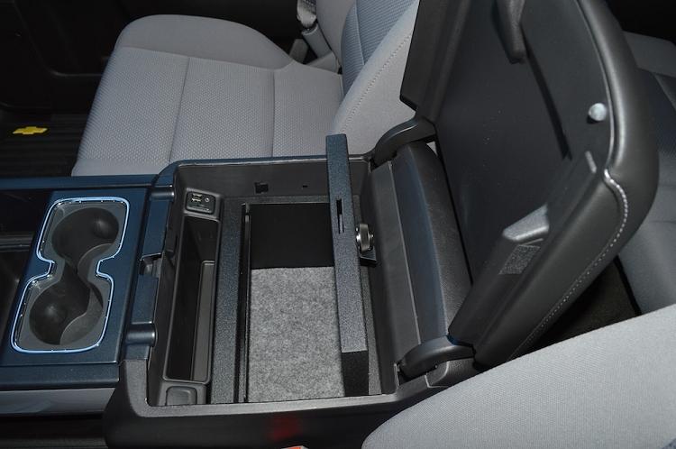 Chevrolet Silverado 1500 Floor Console: 2014 - 2018