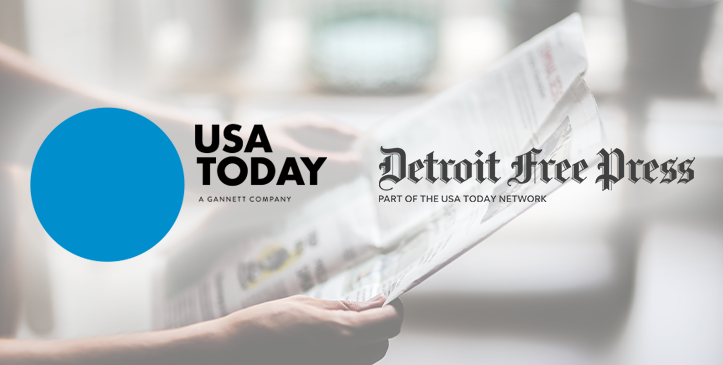 Console Vault Article In The Detroit Free Press and USA Today