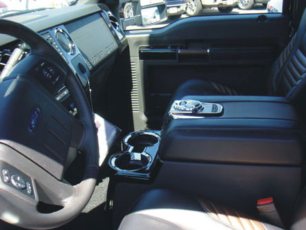 Ford F250 Super Duty Floor Console Vault