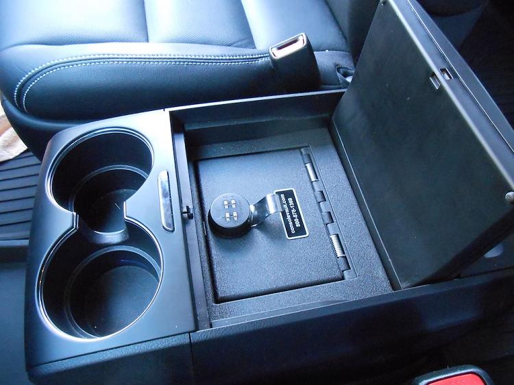 2019 Toyota Sienna Full Floor Console   Console Vault