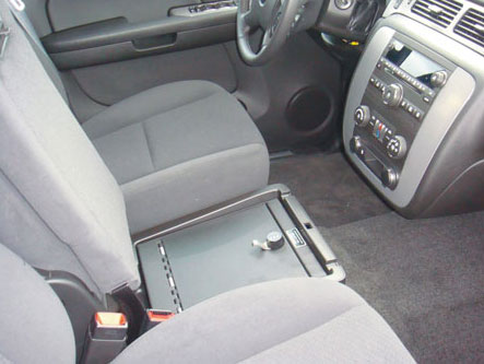 Chevy Avalanche LS Under Seat Safe | Console Vault
