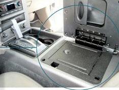 Hummer H2 Console Vault