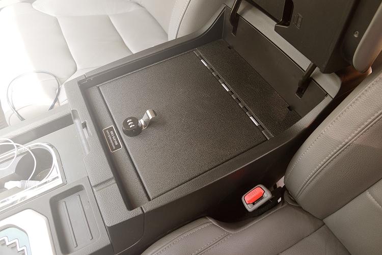Toyota 4 Runner Console Vault