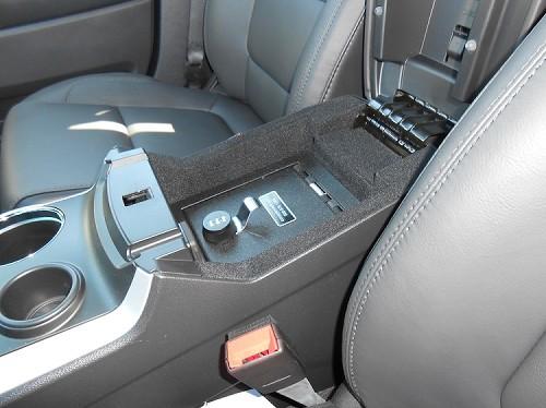 Ford Explorer Full Floor Console: 2013 - 2018