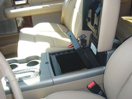 Ford F150 Flow Through Floor Console Vault 2004 2008
