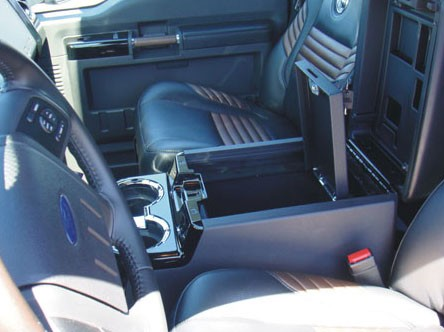 Jeep New Model >> Ford F250 Super Duty Floor Console Vault