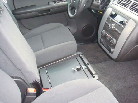 Chevrolet Avalanche LS Under Seat Console: 2008 - 2014